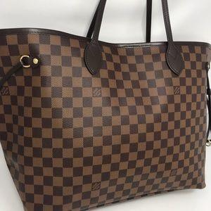 Louis Vuitton Damier Canvas Neverfull GM NM Bag